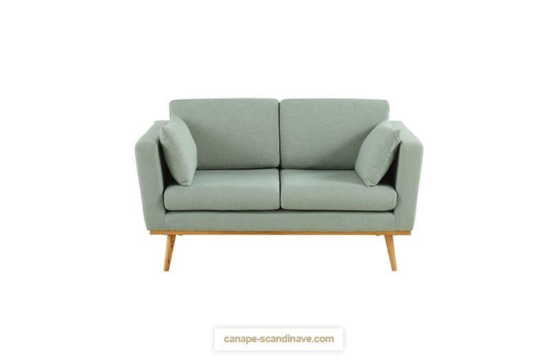 Petit canapé 2 places TIMEO de moins de 150 cm de longueur par ...