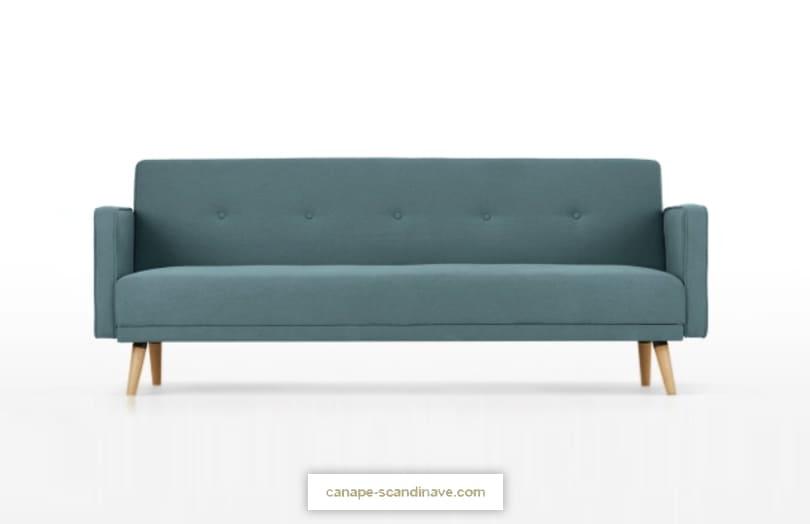 Comparateur de canapé bleu : avis CHOU par Made