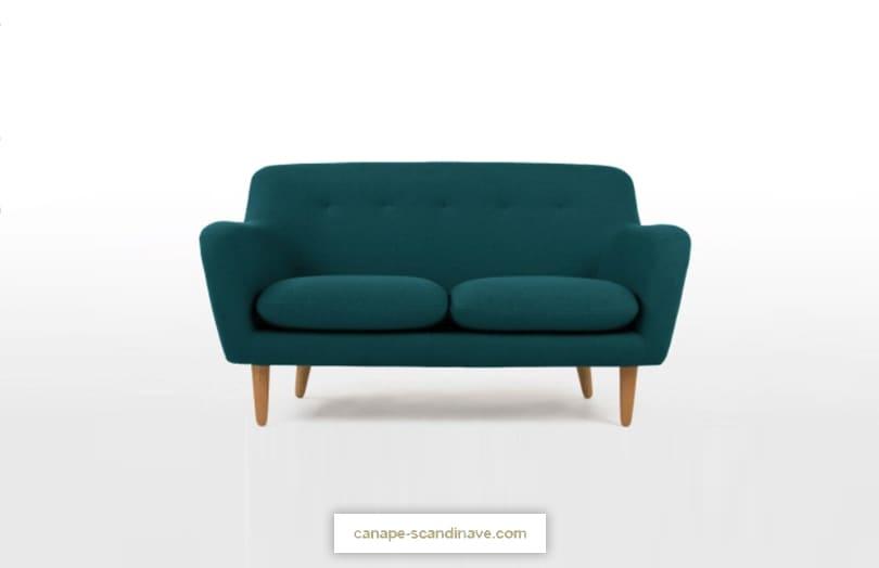 Comparateur de canapé bleu : avis DYLAN par Made
