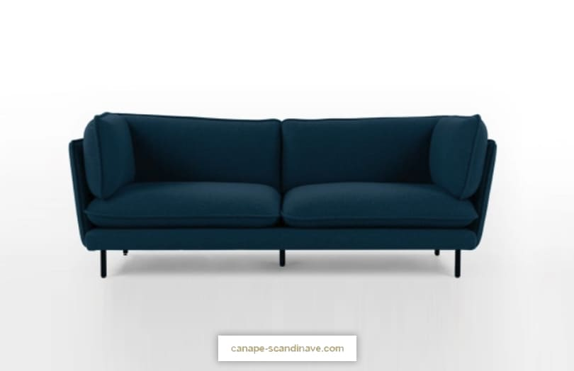 Comparateur de canapé bleu : avis WES par Made.com